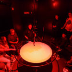 Vorführung in der Kuppel der Camera Obscura