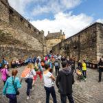 Großer Besucherandrang im Edinburgh Castle