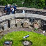Ein Hundefriedhof im Edinburgh Castle