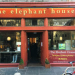 The Elephant House, wo die Autorin Joanne K. Rowling an Harry Potter gearbeitet hat