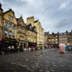 Der mittelalterliche Marktplatz Grassmarket