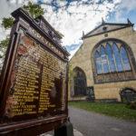 Eingang zum Friedhof Greyfriars Kirkyard