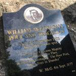 Das Grab von William McGonagall auf dem Friedhof Greyfriars Kirkyard