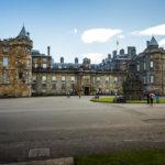 Außenansicht des Holyrood Palace