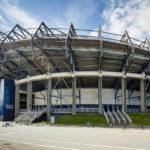 Außenansicht des Murrayfield Stadium