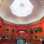 Ausstellungsraum in den National Galleries of Scotland