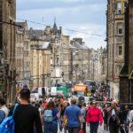 Die Royal Mile ist die meistfrequentierteste Straße in Edinburgh