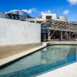 Außenansicht des schottischen Parlaments