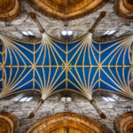 Die blaue Decke der St Giles' Cathedral