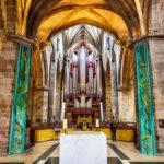 Die Orgel der österreichischen Firma Rieger in der St Giles' Cathedral