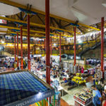 Innenansicht der Tartan Weaving Mill and Experience