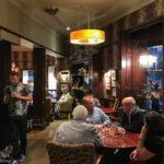 Innenansicht des Conan Doyle Pub