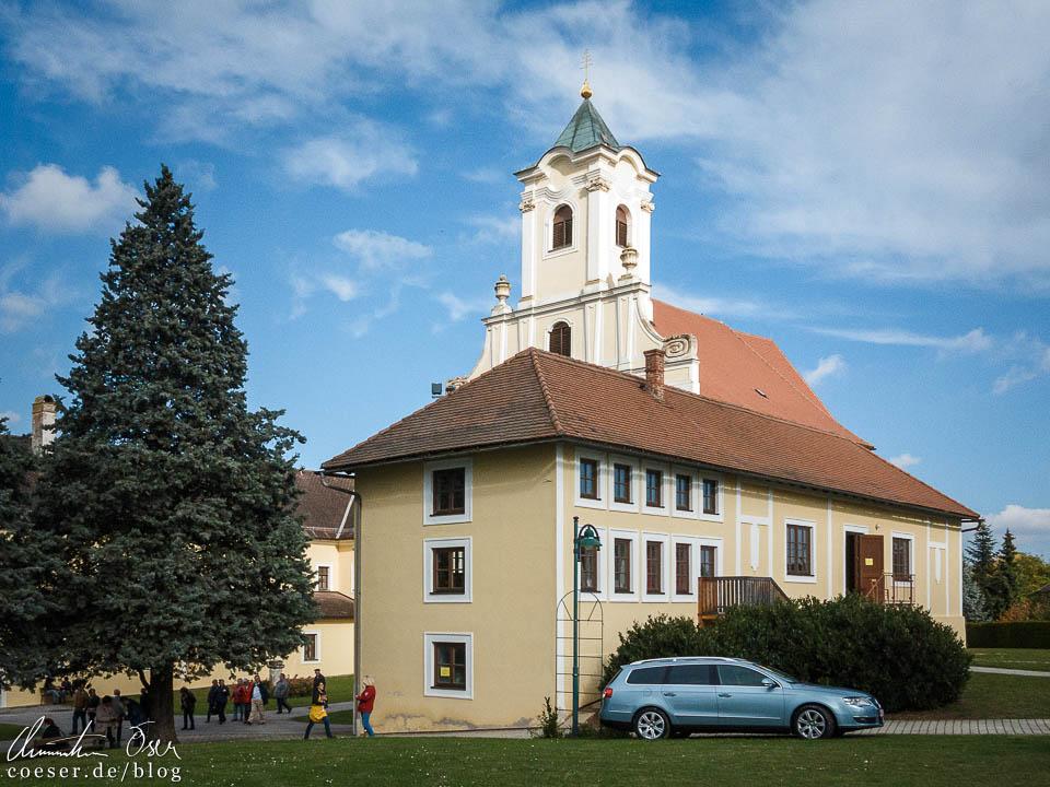 Abtei Klostermarienberg am Kastanienfest