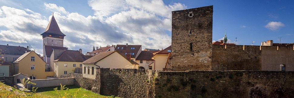 Die alte Stadtbefestigung in Znaim
