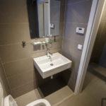 Badezimmer im Doppelzimmer im Hotel Residence TGM in Znaim