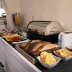 Frühstücksbuffet im Hotel Residence TGM in Znaim