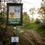 Zugang zum Nationalpark Národní park Podyjí