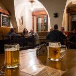 Innenansicht des Lokals Pivnice U šneka
