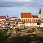 Blick vom Kuhberg auf die St.-Nikolaus-Kirche