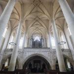 Die neugotische Orgel in der St.-Nikolaus-Kirche in Znaim