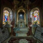 Innenausstattung der St.-Nikolaus-Kirche in Znaim