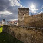 Überreste der Znaimer Stadtbefestigung