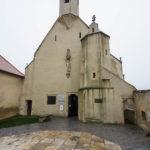 Außenansicht der Wenzelskapelle in Znaim