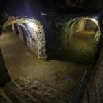 Dunkle Gänge im Znaimer Untergrund