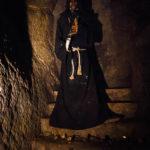 Ausstellung in den dunklen Gängen im Znaimer Untergrund