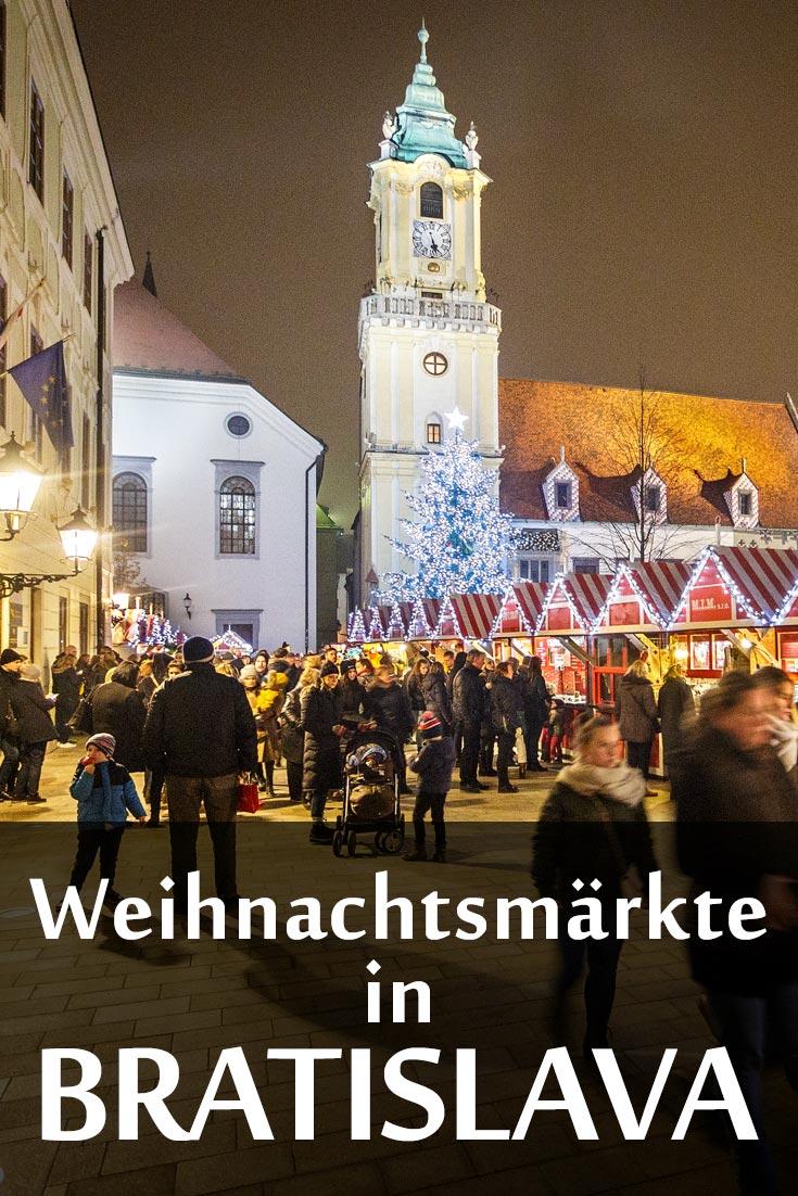 Weihnachtsmärkte in Bratislava: Erfahrungsbericht mit Tipps zu den besten Fotospots, Restaurants und allgemeinen Hinweisen.