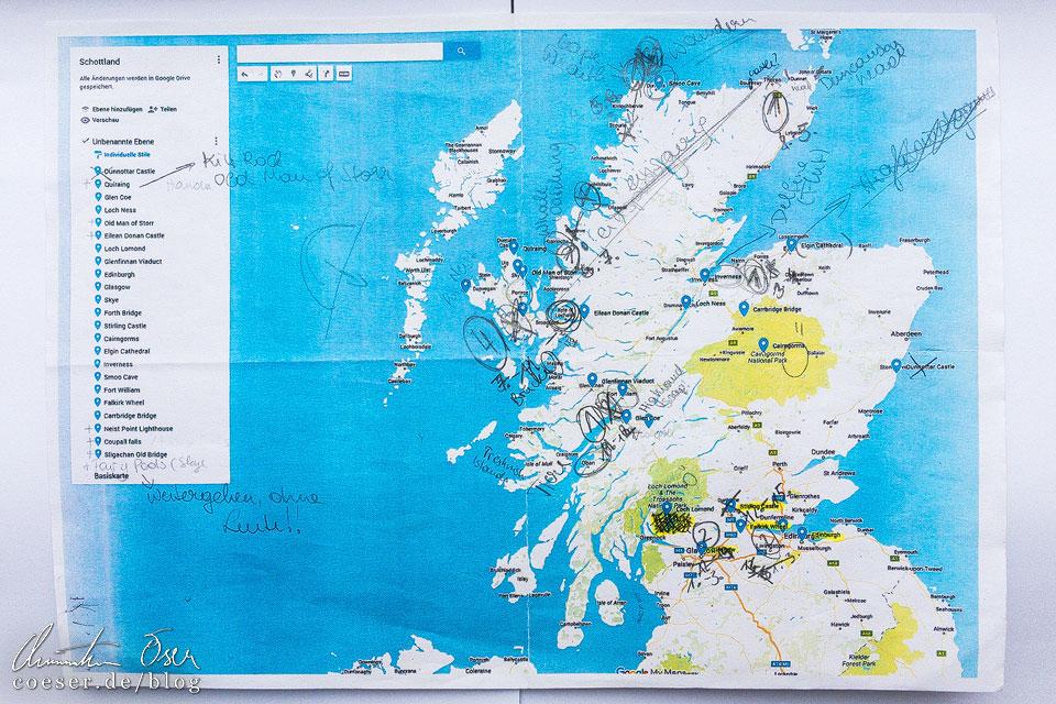 Interessante Orte in Schottland