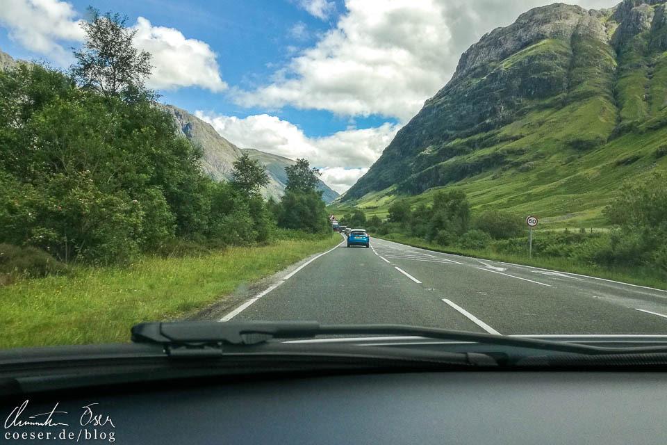 Linksfahren in Schottland