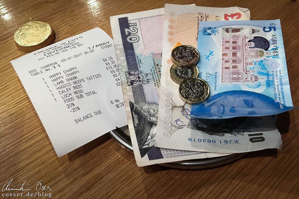 Schottische Banknoten