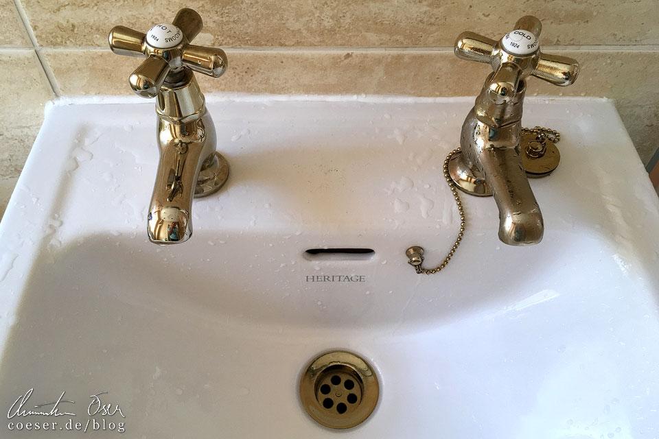 Wasserhahn in Schottland