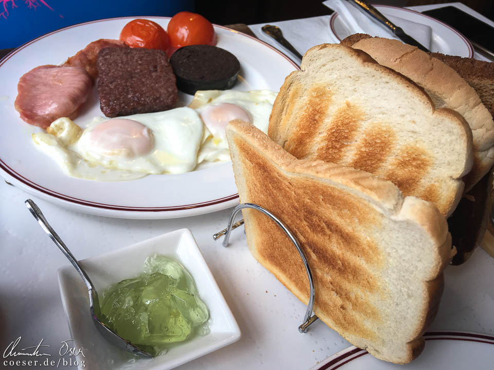 Typisches Scottish Breakfast