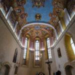 Innenansicht der Kapelle in der Burg von Ljubljana