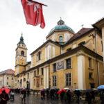 Außenansicht des Doms St. Nikolaus