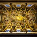 Das Deckenfresko im Dom St. Nikolaus