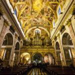 Innenansicht des Doms St. Nikolaus