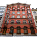 Das Jugendstilgebäude der Genossenschaftlichen Wirtschaftsbank