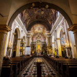 Innenansicht der Mariä-Verkündigungs-Kirche