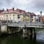 Die Schusterbrücke vom slowenischen Architekten Jože Plečnik