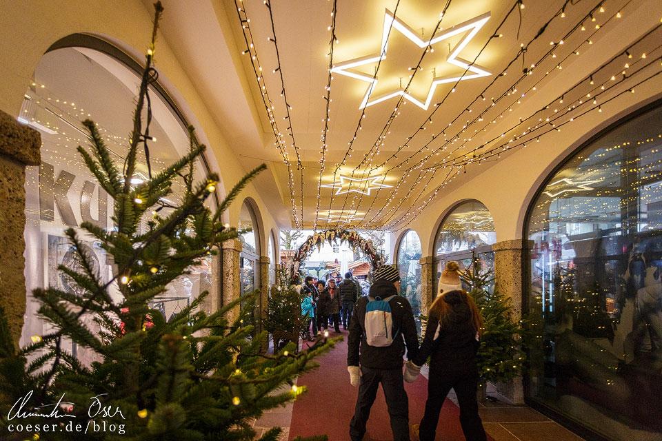 Weihnachtsmarkt Sternadvent-Markt in Salzburg