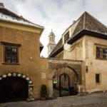 Außenansicht der Alten Synagoge von Sopron