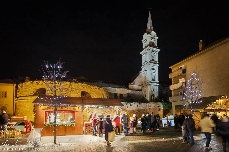Weihnachtsmarkt in Sopron