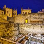 Teile der alten Stadtmauer von Sopron