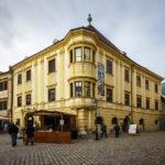 Außenansicht des Storno-Hauses von Sopron