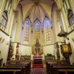 Innenansicht der Ursulinenkirche in Sopron