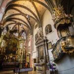 Innenansicht der Ziegenkirche in Sopron