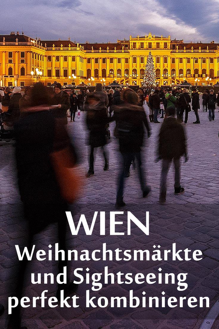 Wiener Weihnachtsmärkte: 6 Tipps für Touristen, um die Sehenswürdigkeiten in Wien stressfrei mit den wichtigsten Adventmärkten zu verbinden.
